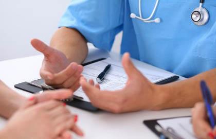 Объяснение пациентке суть патологи