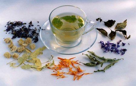 Чаи и настои для лечения