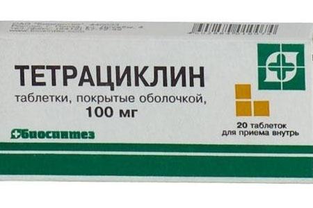 Тетрациклин при оофорите