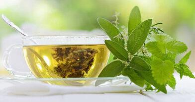 Растительный и полезный чай