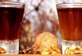 Чай и настой из орешков
