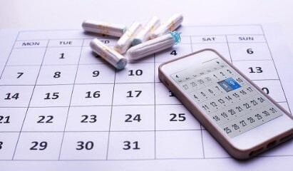 Менструальный цикл по календарю