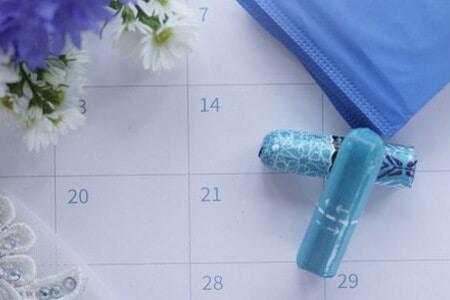 Календарь с графиком менструаций